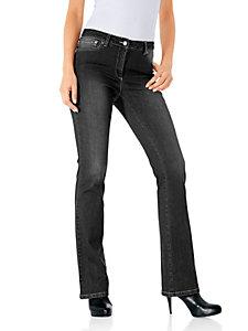 Bodyform-Bootcut-Jeans mit Bauch-weg-Funktion