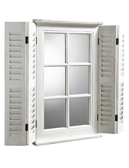 heine home spiegelfenster wei im heine online shop kaufen. Black Bedroom Furniture Sets. Home Design Ideas