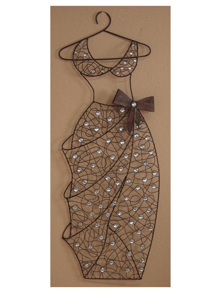 Wanddeko wickelkleid im heine online shop kaufen for Heine wanddeko