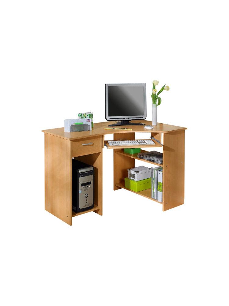 eck schreibtisch graz fmd zwetschgefb im heine online. Black Bedroom Furniture Sets. Home Design Ideas
