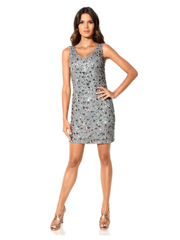 Carry allen kleid silbergrau kleider im mode shop auf heine at