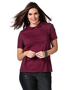 Sheego Trend - sheego Trend T-Shirt mit Bubikragen