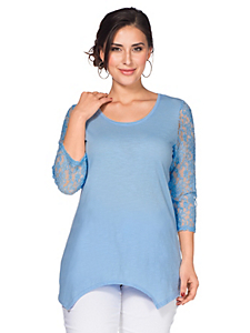 Sheego Style - sheego Style Zipfelshirt
