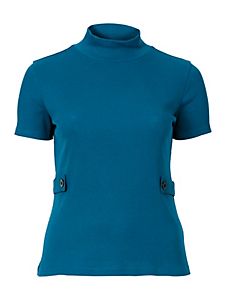 Sheego Trend - sheego Trend Shirt mit Stehkragen