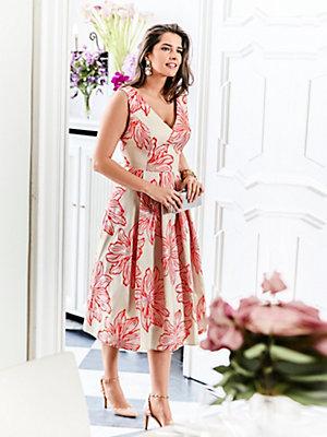 Guido Maria Kretschmer - Cocktailkleid mit Blumen-Dessin